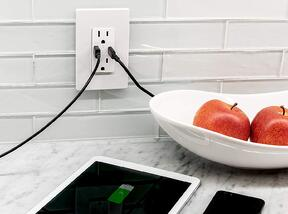 In-Wall USB  Receptacle