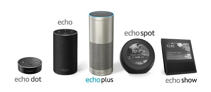 Amazon-Alexa-Echo-product-family