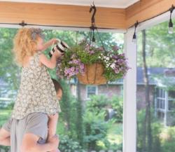 DIY Porch Lights with Enbrighten Cafe String Lights