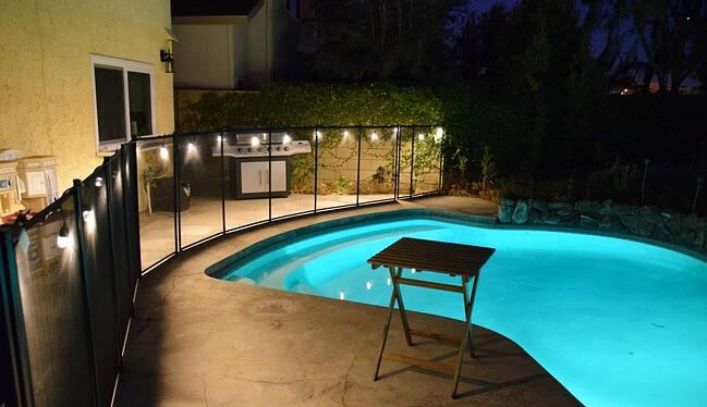 Poolside bliss with Enbrighten Cafe Lights