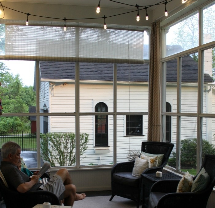How to create farmhouse charm with Enbrighten Cafe Lights by Jasco