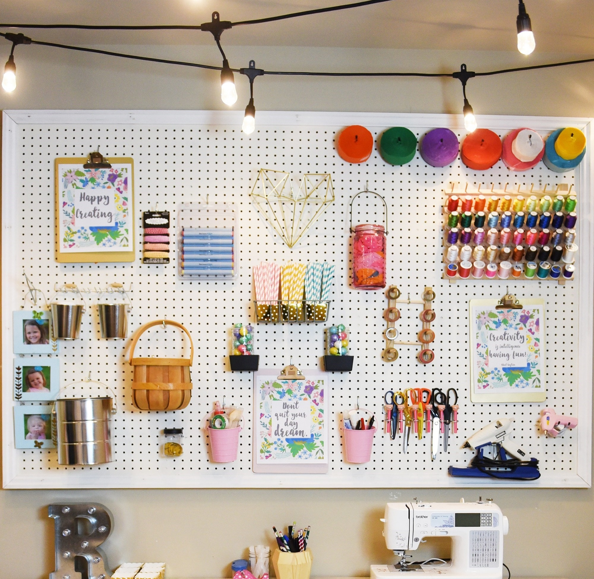 Create an Inspiring Work Space with Enbrighten LED Cafe Lights