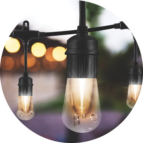 What style of cafe lights are you?