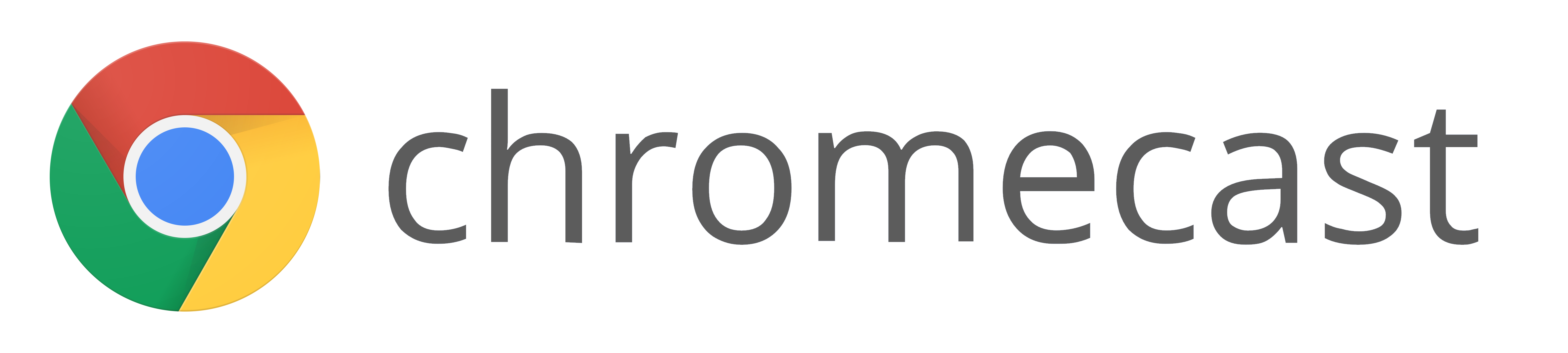 Google Chromecast logo for video streaming to devices