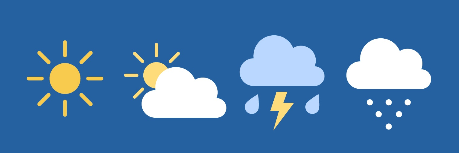 Checking the weather for the day and week with your voice activated virtual assistant