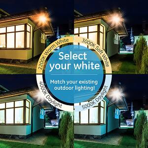 Enbrighten Security Lights White Selection