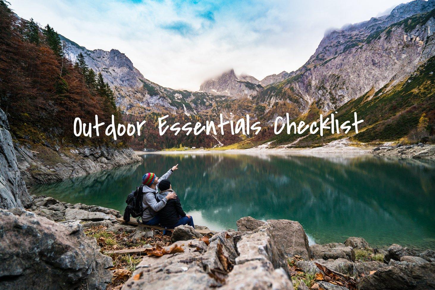 Outdoor-essentials-checklist-items-you-need