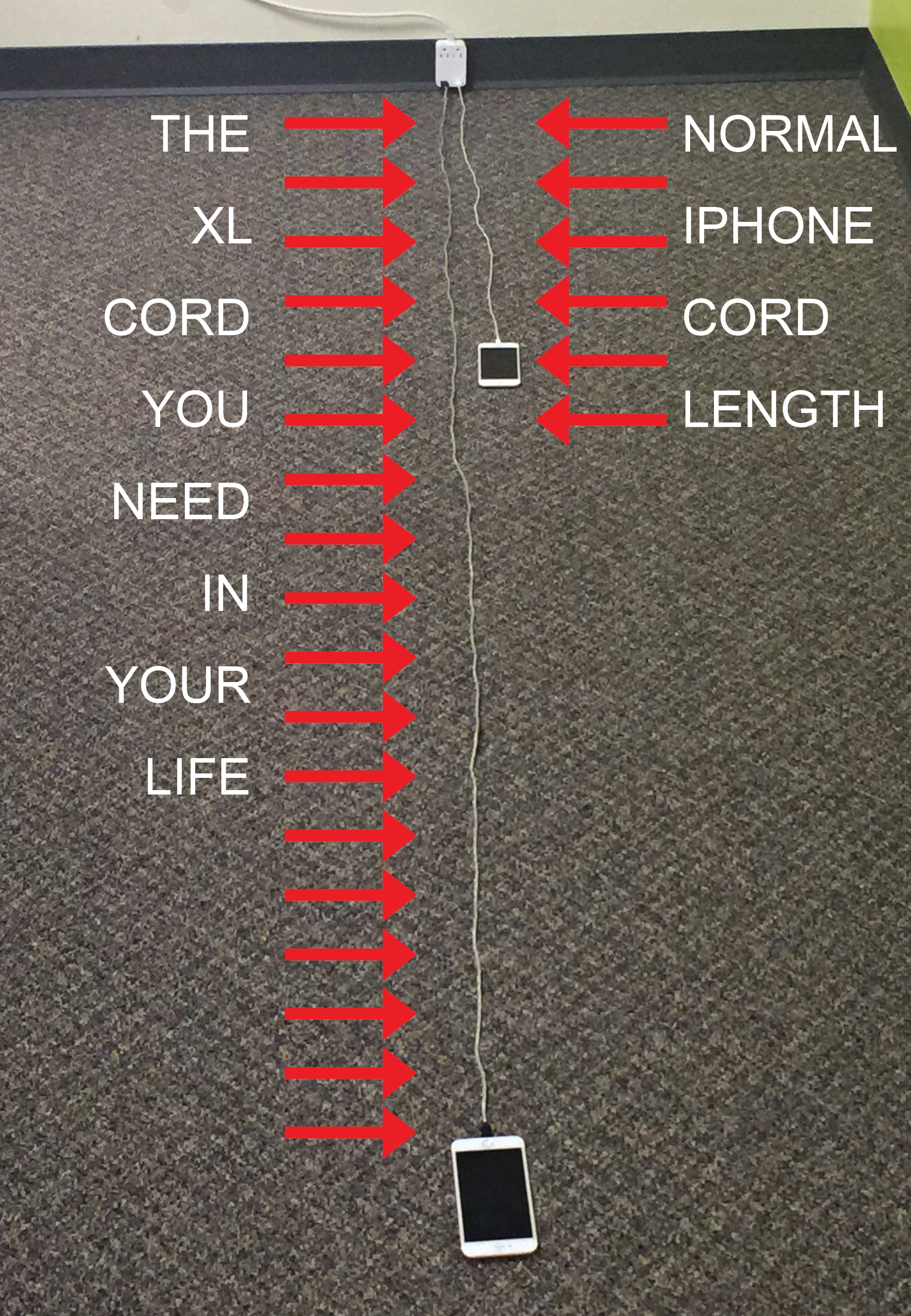 Why you need a 9-foot long USB charging cable in your life
