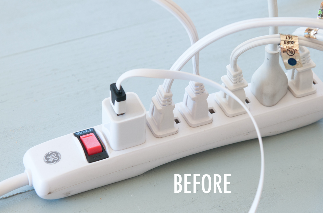 Once you have your charging station set up there are many labeling methods you can use with items from around your home.