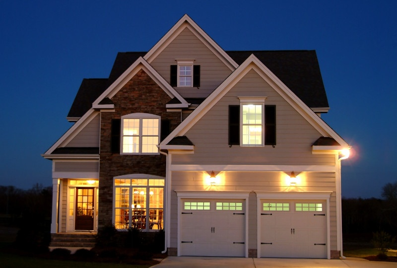 Use security lighting on exterior of home to improve safety.