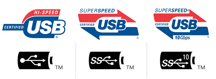 USB-IF Certified Logos