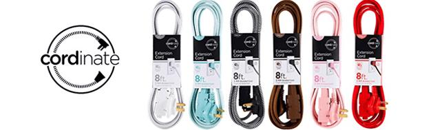 cordinate extension cords