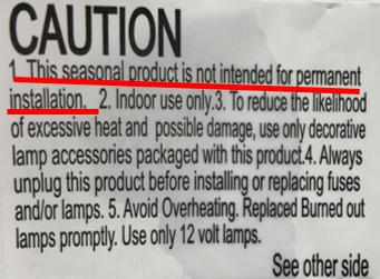Tips for Hanging Seasonal Lighting
