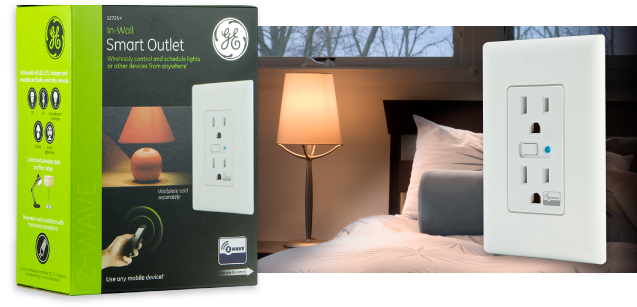 Reduce your energy bill and elimate wastful vampire energy with Z-Wave Smart Outlets
