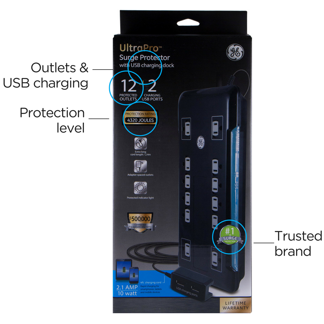 what to look for when buying a surge protector