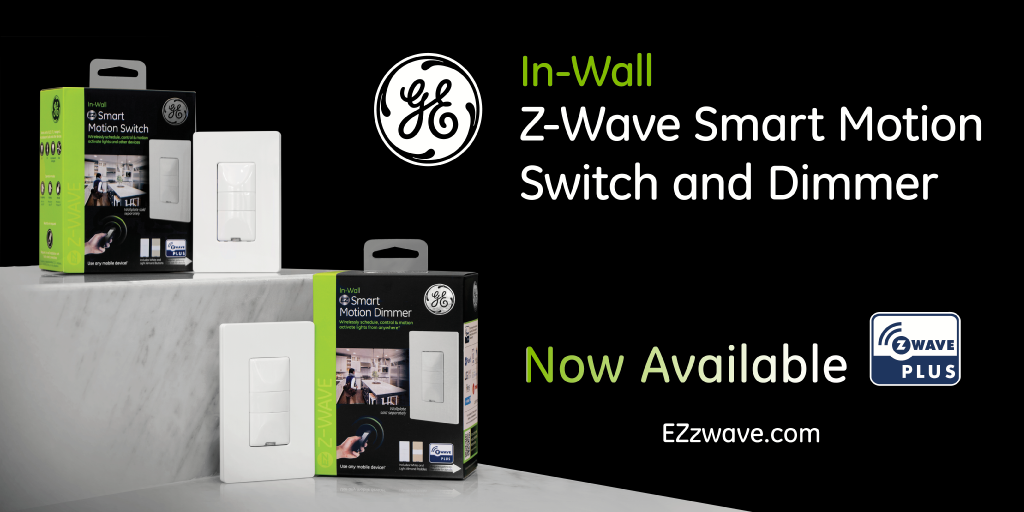 Just Released: The First Z-Wave In-Wall Smart Motion Switch & Dimmer