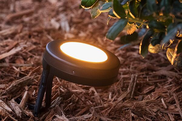 Add proximity to your outdoor lighting with Enbrighten Landscape Lights.