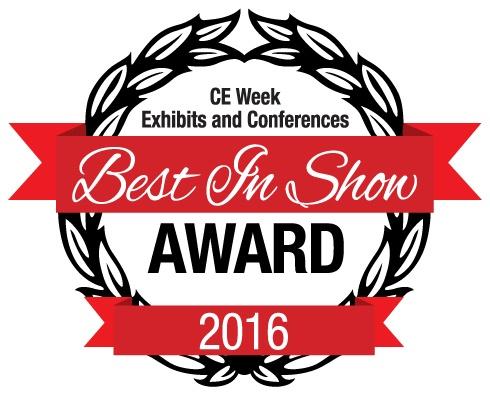 GE Bluetooth Outdoor Smart Switch Wins CE Week Best in Show Award