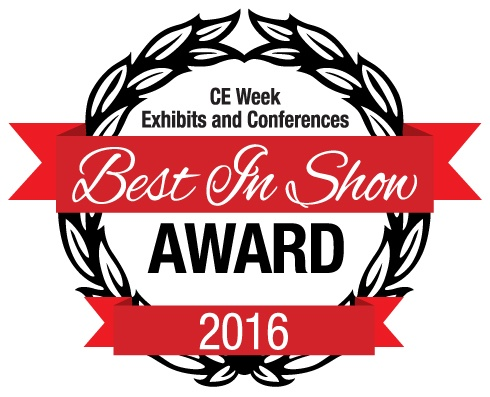 GE Bluetooth Outdoor Smart Switch Wins CE Week Best in Show Award