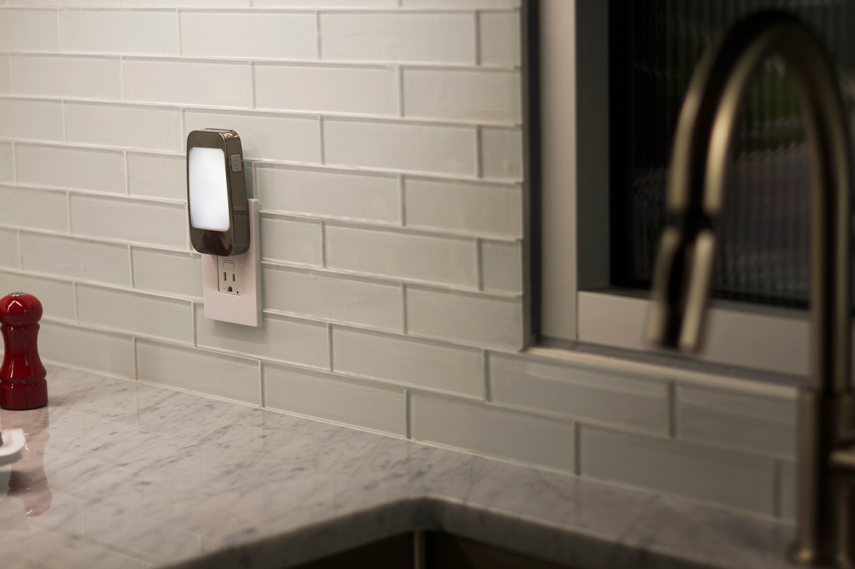 Power Failure Night Light provides light in case of emergency when power goes out