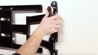 Step 2 - Secure mount to the wall