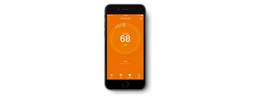 Smart Device with Nest App for Nest Thermostats and Sensors