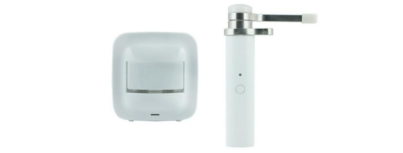 GE Z-Wave Plus Hinge Pin Smart Door Sensor and Smart Motion Sensor
