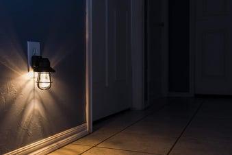 ge vintage farmhouse night light