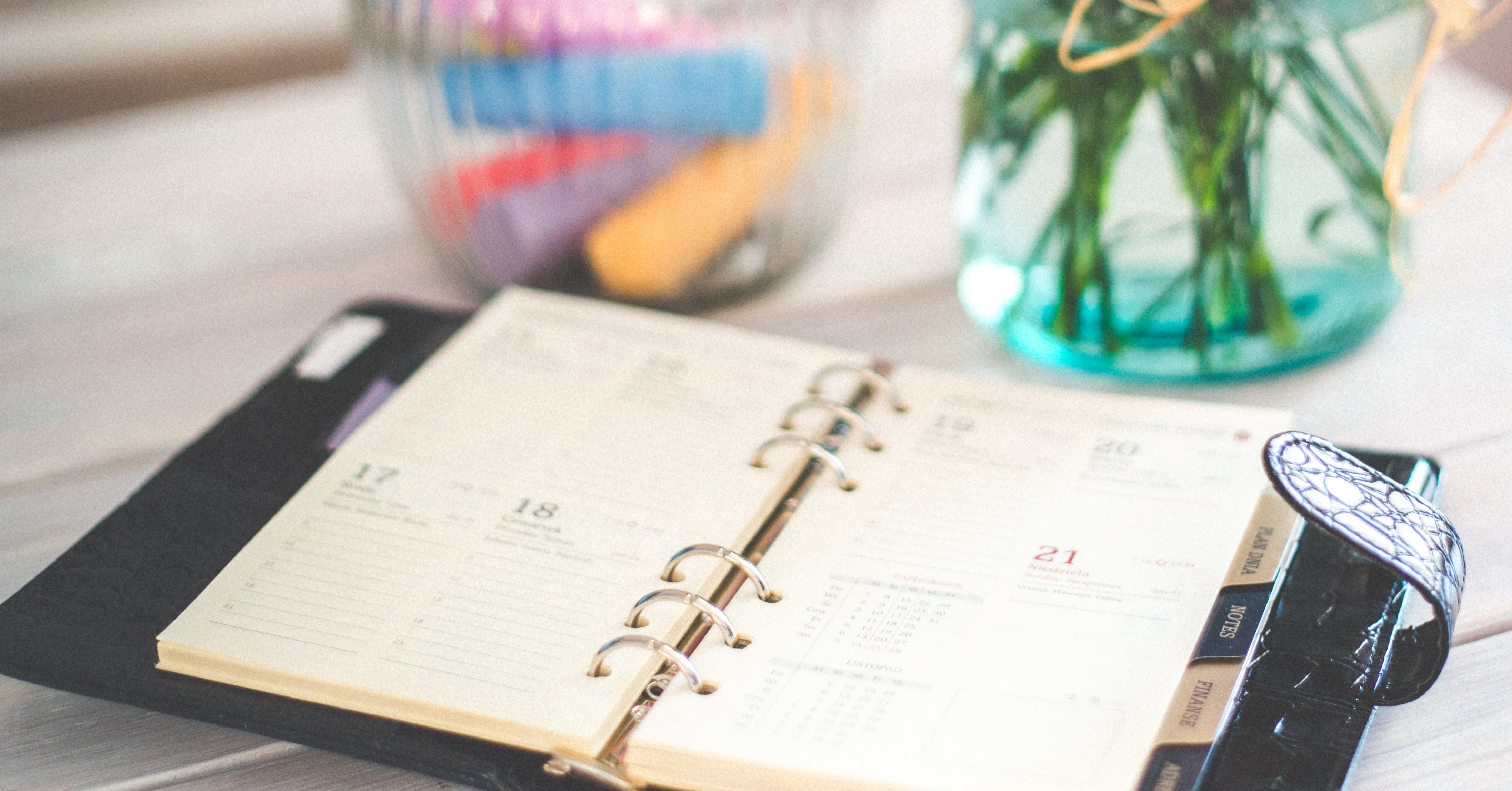 add a calendar to your cubicle wall