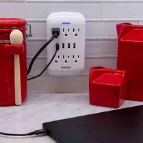 philips wall tap surge protector