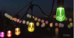Enbrighten color-changing cafe lights