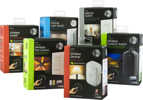 Z-Wave, Bluetooth and ZigBee Home automation devices