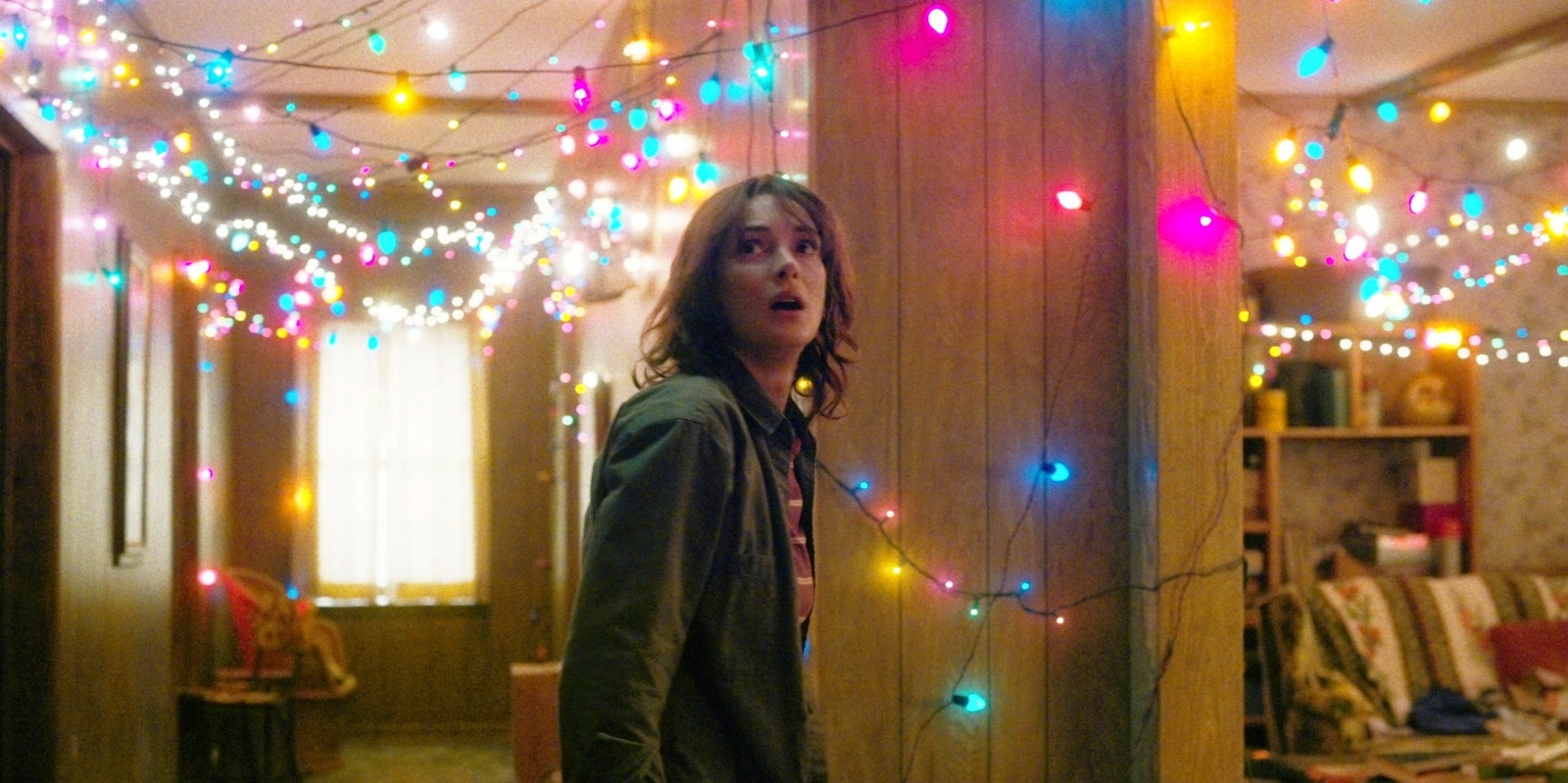 Stranger Things Joyce Flickering Christmas Lights