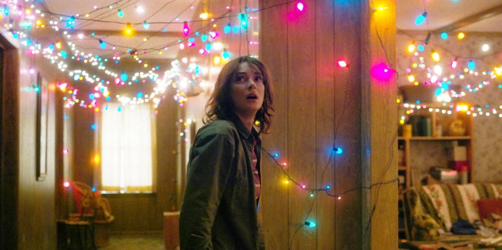 Stranger Things Christmas Lights.Our Stranger Things Upside Down Christmas Tree Christmas