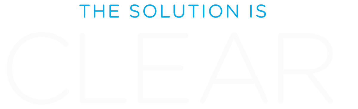 the solution is clear text image