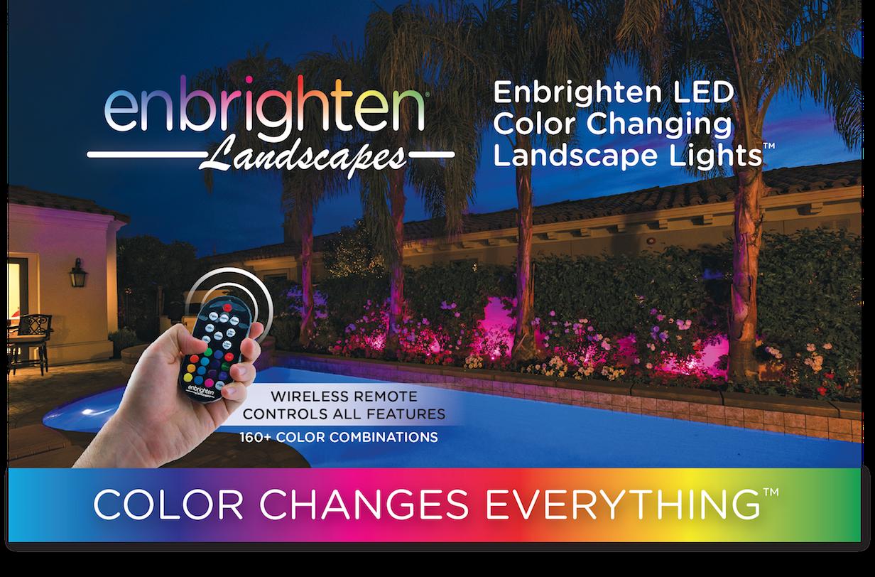 Meet Enbrighten Landscape Lights Color Changes Everything